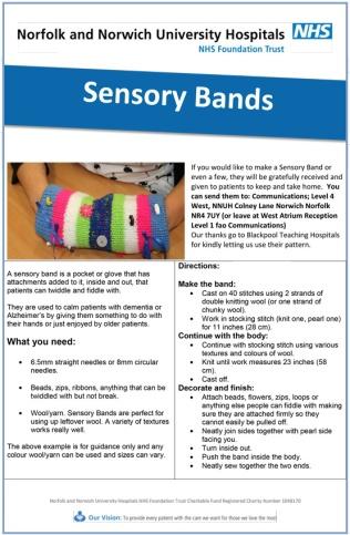 Sensory-band-pattern